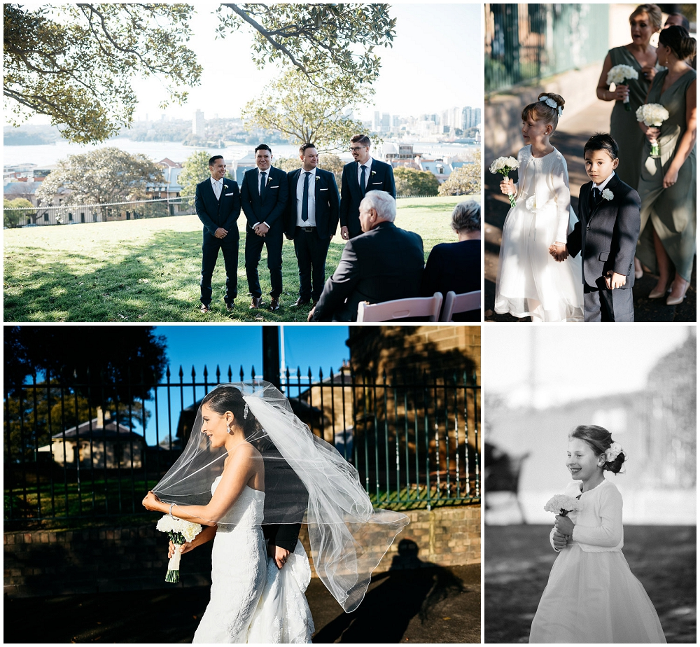 Sydney Observatory Hill Park Wedding Venue