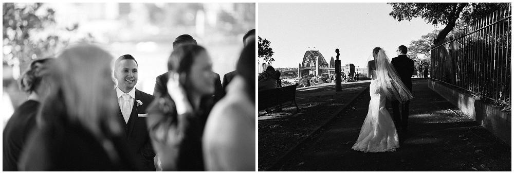 Wedding at Sydney Observatory Hill Park