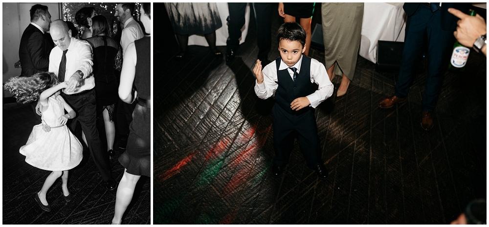 Kids Dancing in the Wedding