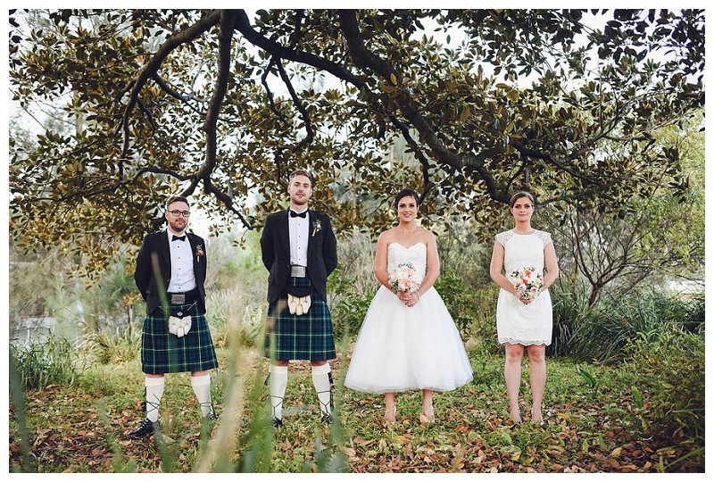 Vintage-themed Scottish Wedding Photo Shoot