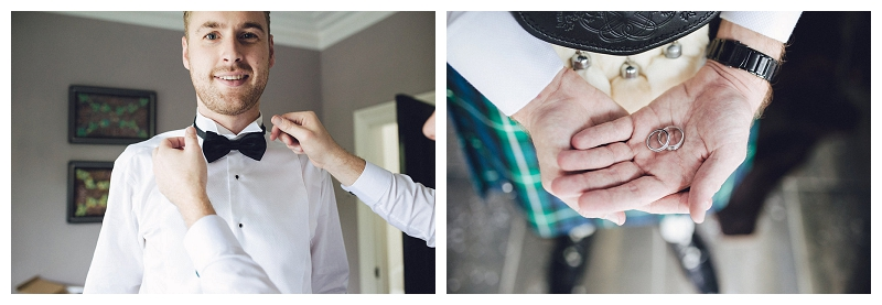 Vintage-themed Scottish Groom's Attire