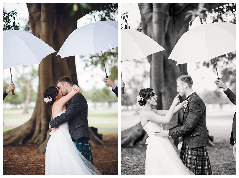 Vintage-themed Scottish Wedding at Jubilee Park, Glebe