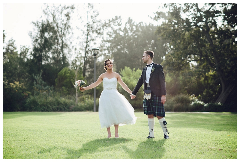 Vintage-themed Scottish Wedding