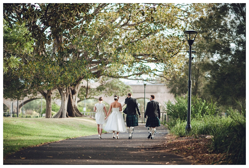 Scottish Wedding at Jubilee Park, Glebe