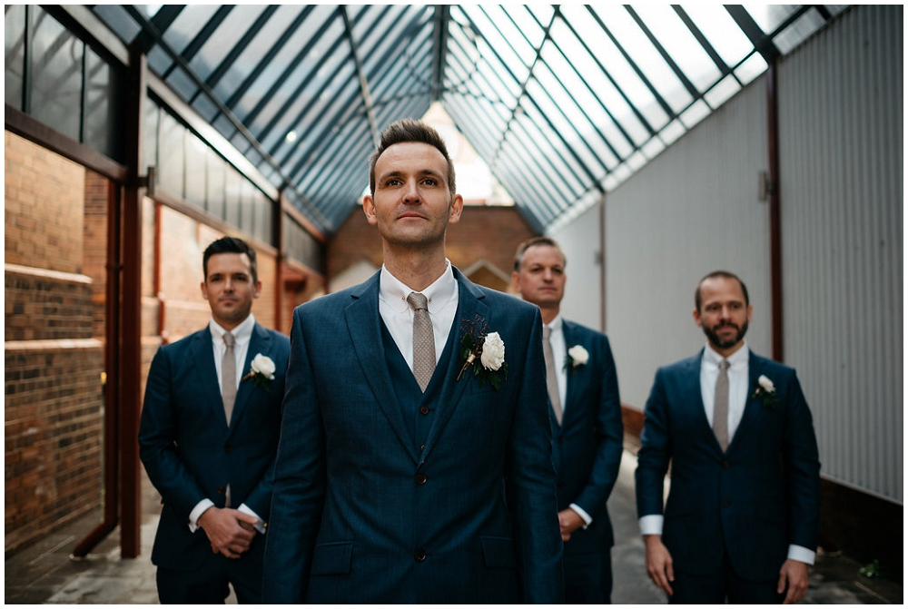 Groom and Groomsmen's Suits