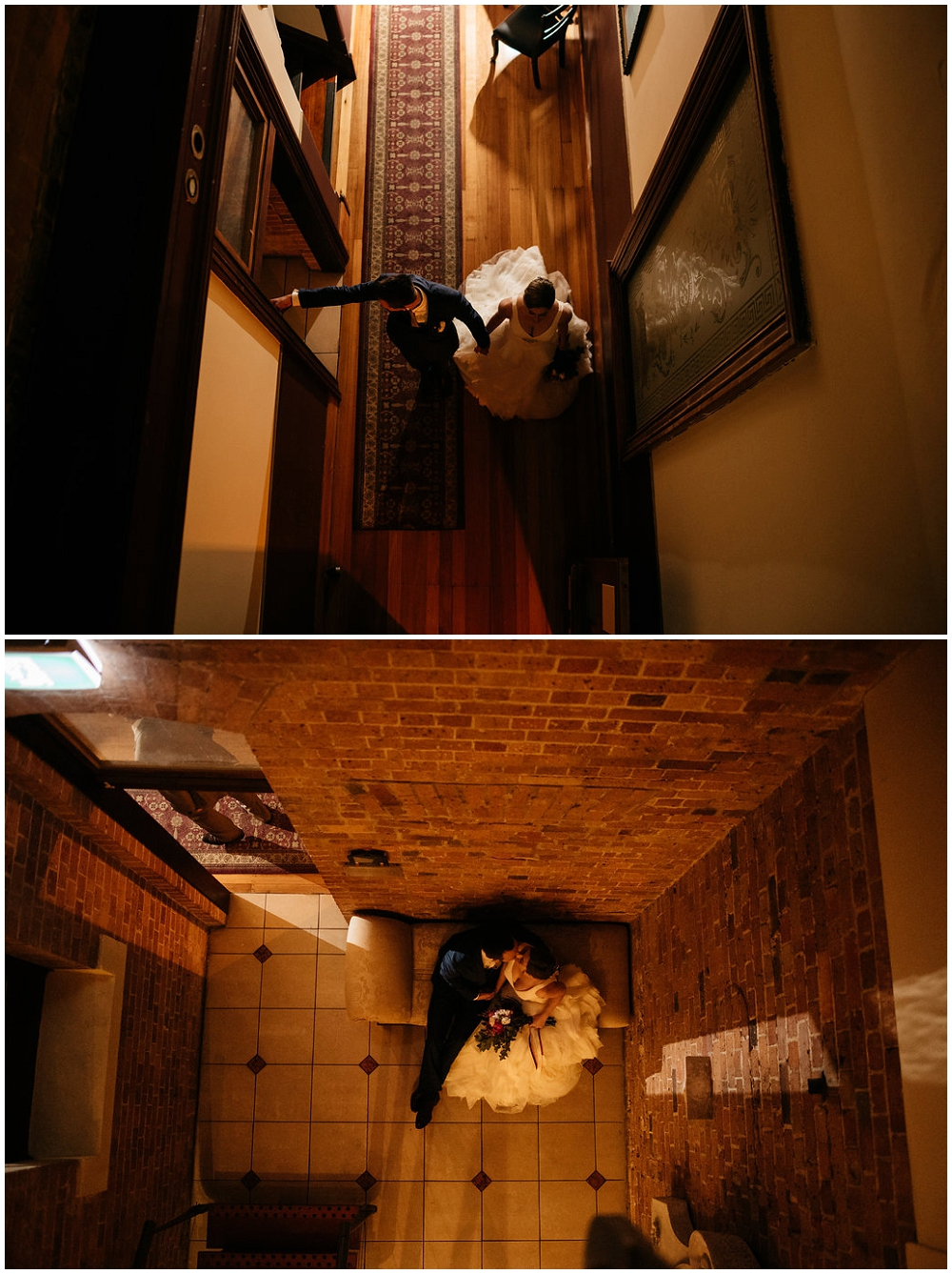 Bride and Groom's Creative Shots