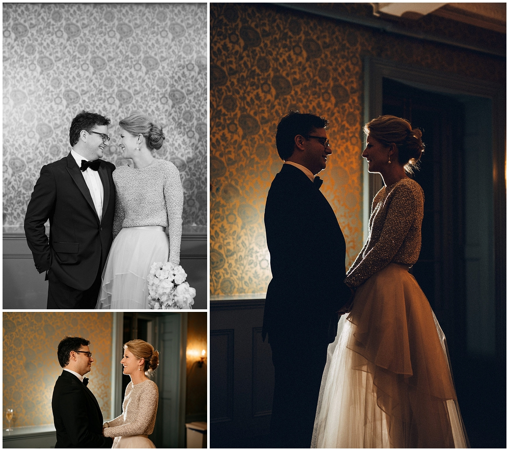 Bride and Groom's Portraits