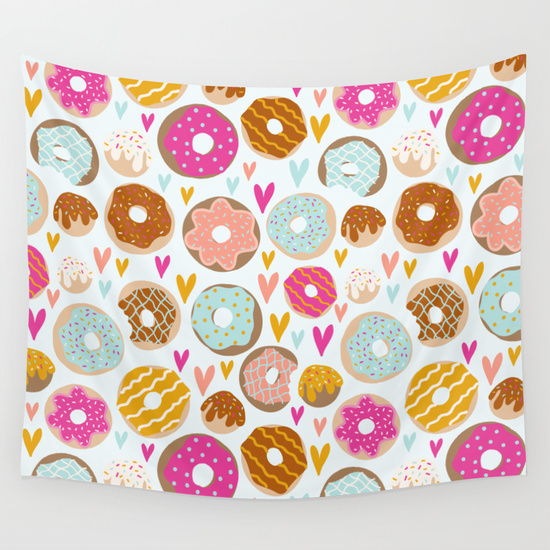 donut photo booth backdrop