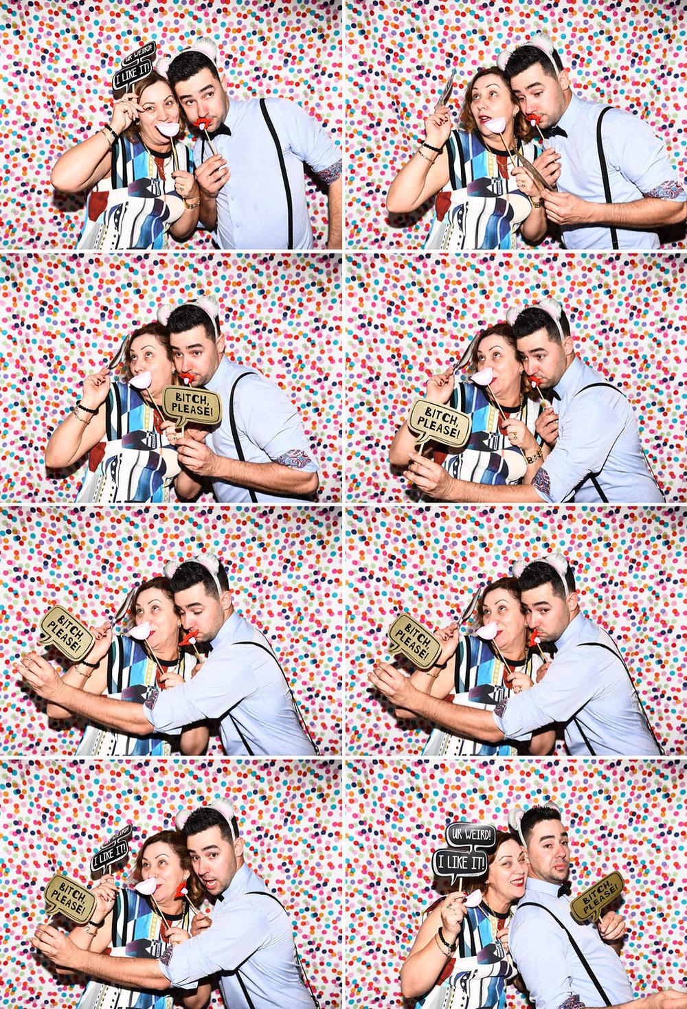 sydney wedding photobooth