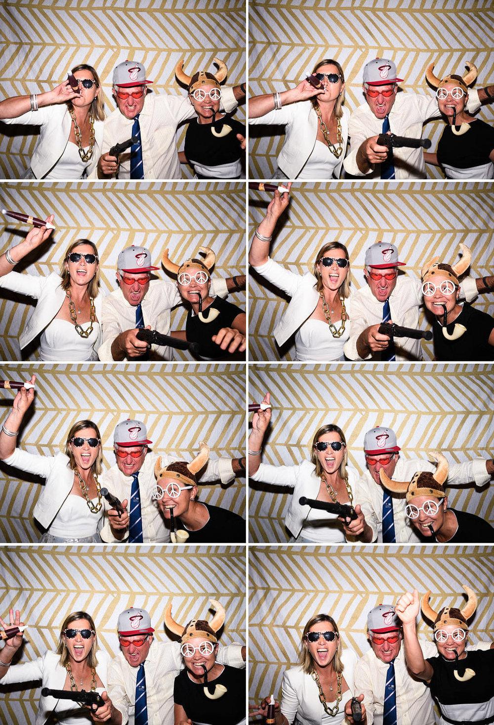 Sydney wedding photo booth