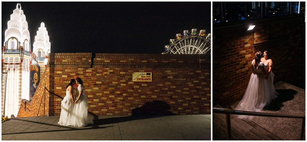 luna park wedding