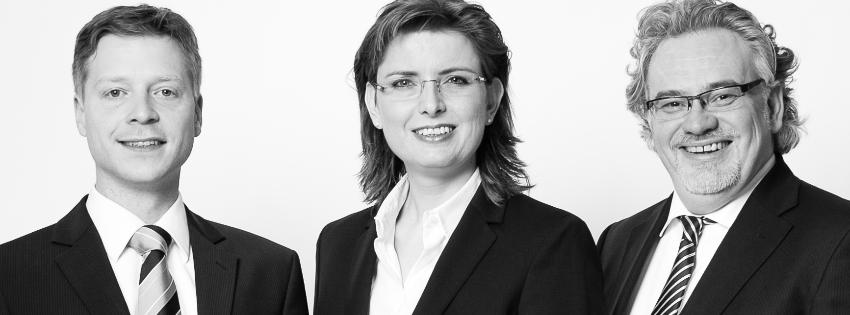 RA Markus Degen_Immobilienrecht        RA´in Alexandra Schriefers_Arbeitsrecht             RA Andreas Schriefers_Wirtschaftsrecht