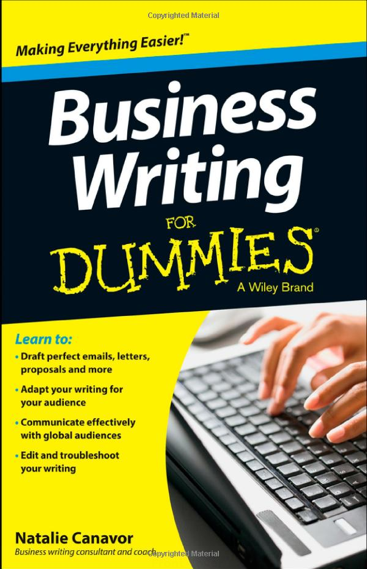 JP Linguistics in Business Writing for Dummies