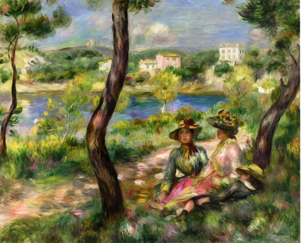 Beaulieu  - Pierre-Auguste Renoir (Image: www.wikiart.org)