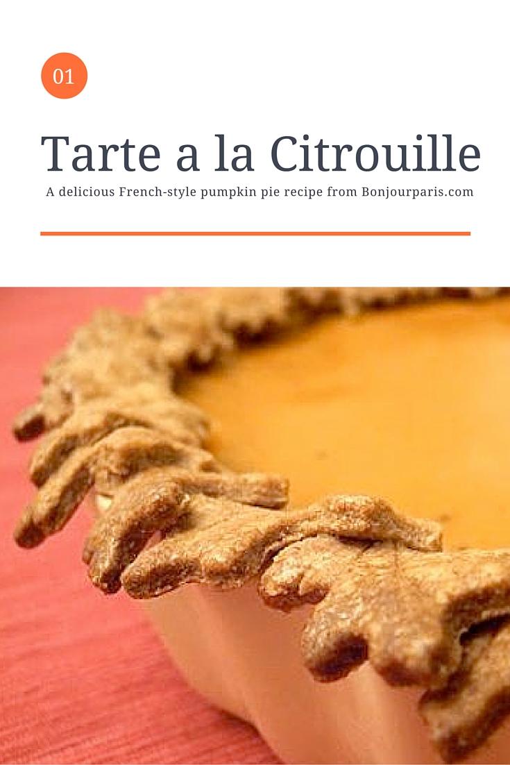 Tarte A La Citrouille - French Recipe