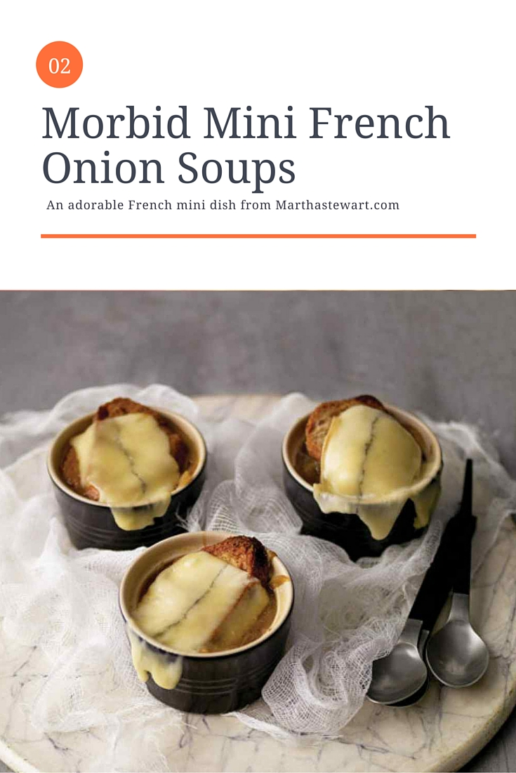 Mini French Onion Soup - Recipes