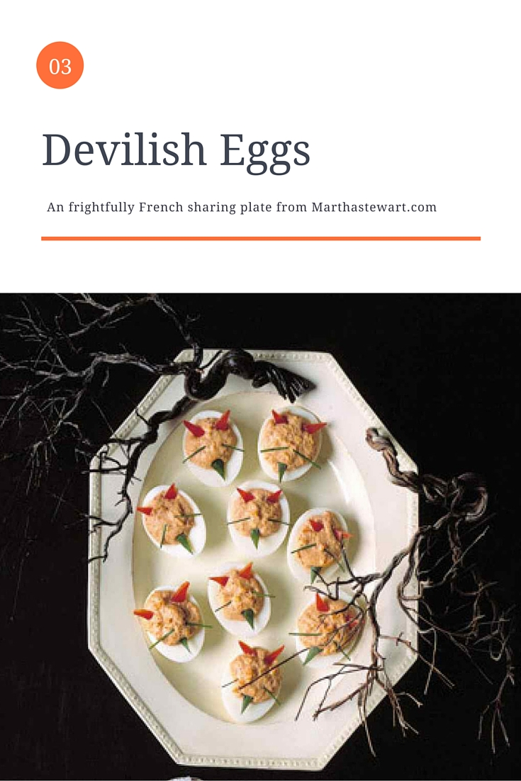 Devilish Eggs - French Recipe