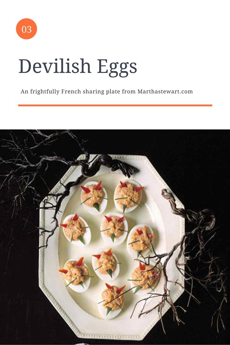 Devilish Eggs - French Recipe