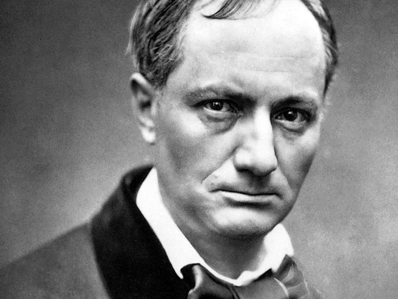 Charles Baudelaire  was a  French poet  who worked as an art critic and pioneer translator of Edgar Allen Poe. He died at the young age of 46 years old in 1867.  Image Credit: lifeandlegends.com