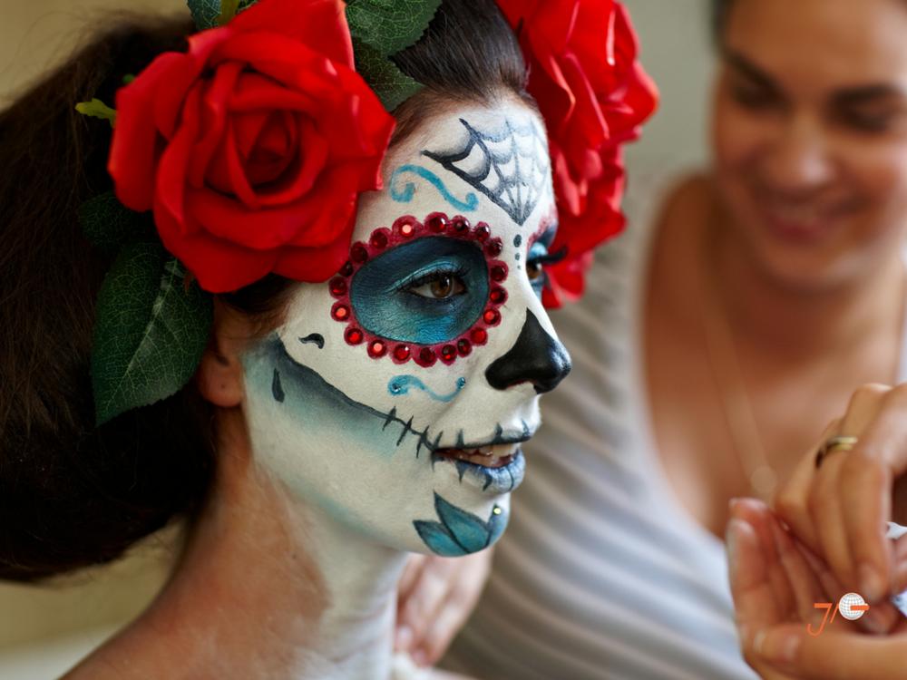 Dia De Los Muertos Make Up