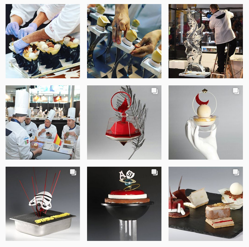 Gelato World Cup Instagram