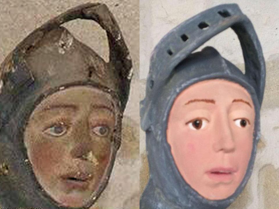 Photo: Julio Asuncion/ArtUs Restauración Patrimonio/Facebook