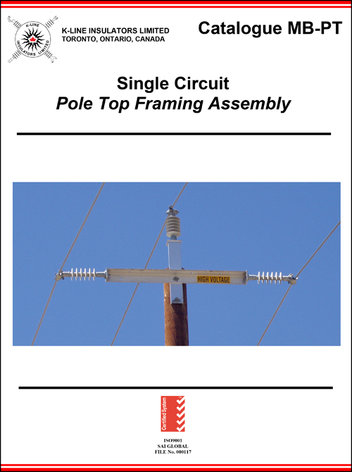 Chapter 7.5 Pole Top Framing Assembly Cat MB-PT