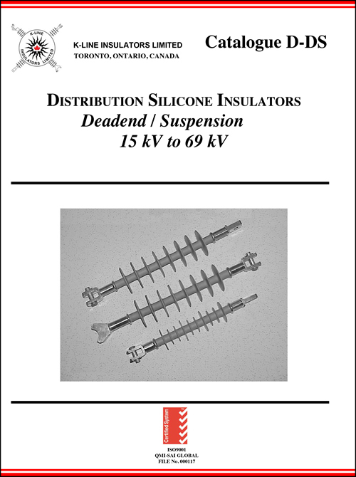 Chapter 1 Distribution Deadend-Suspension Insulators Cat D-DS