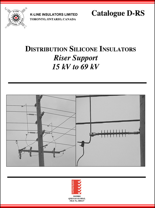 Chapter 6 Distribution Riser Support Insulators Cat D-RS