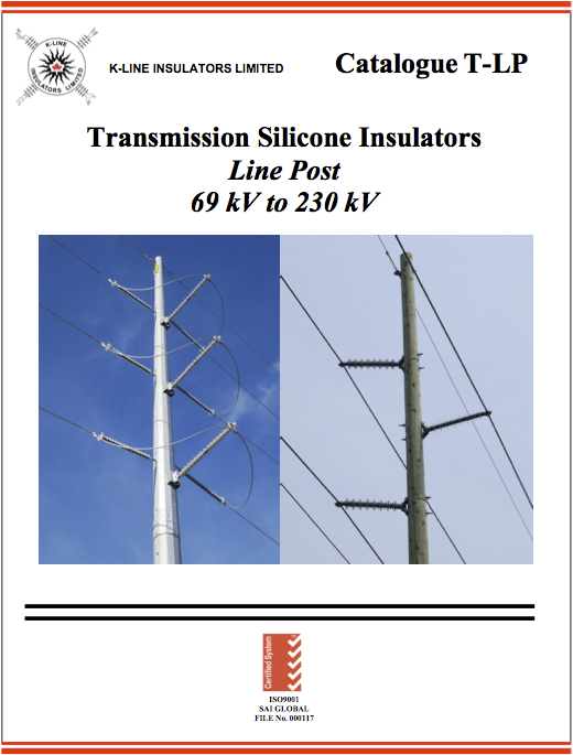 Chapter 2 Transmission Line Post Insulators Cat T-LP