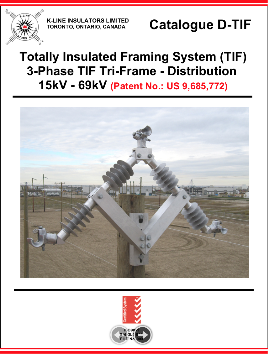 Chapter 9.1   Totally Insulated Framing System – Distribution   Cat D-TIF