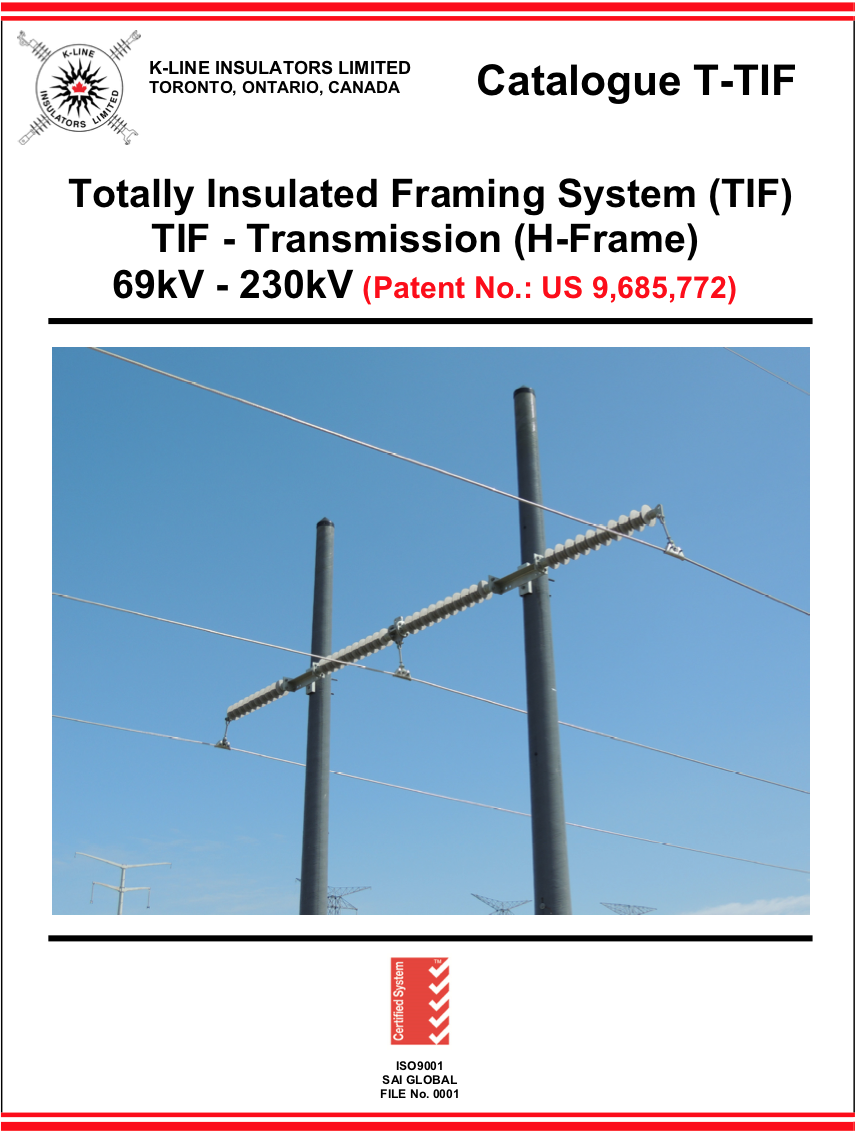 Chapter 9.2   Totally Insulated Framing System –Transmission   Cat T-TIF