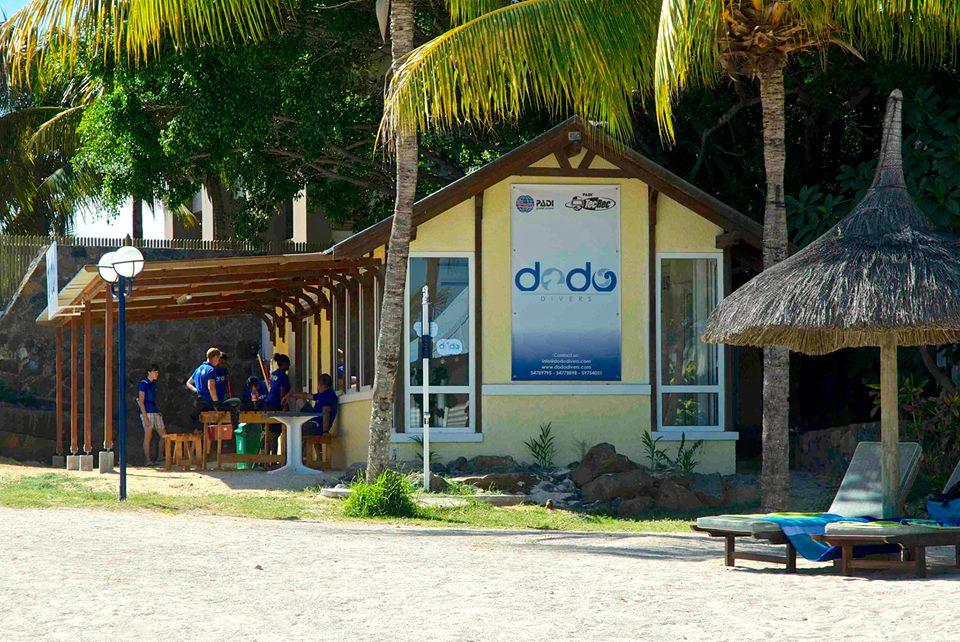 Diving centre Dodo, Calodyne, Mauritius