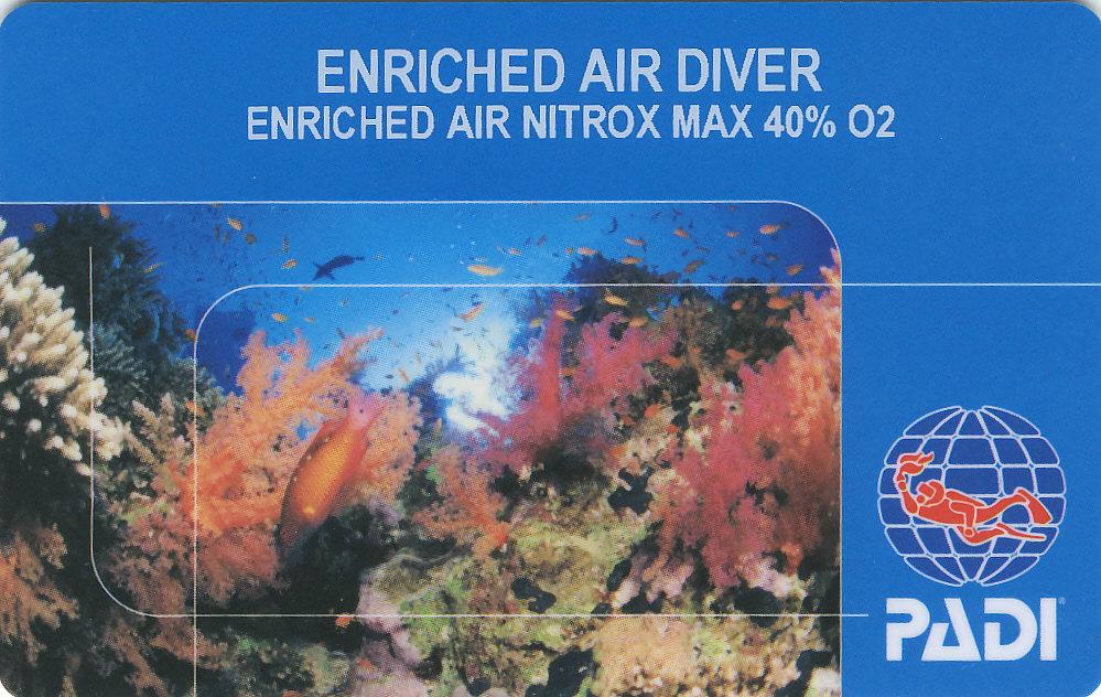 Nitrox License Dodo Divers in Mauritius
