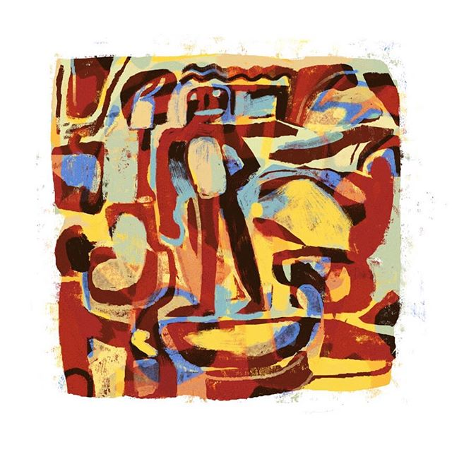 #art #abstract #digital #colourful #warm #symbol #print