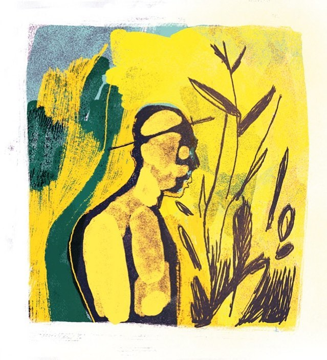 Farmer #farmer #picture #illustration #art