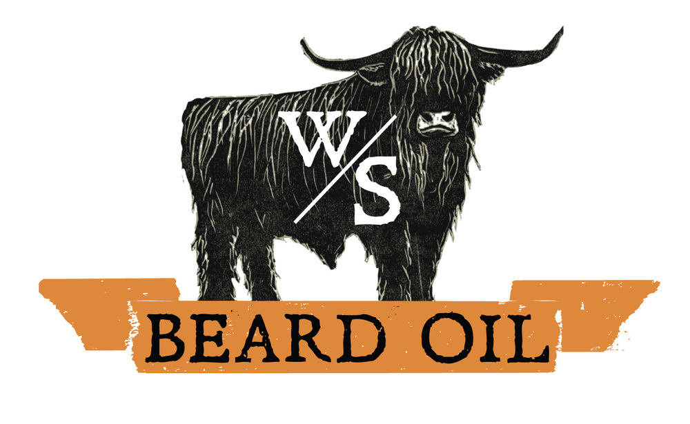 Wild Scotsman beard oil logo, 2015