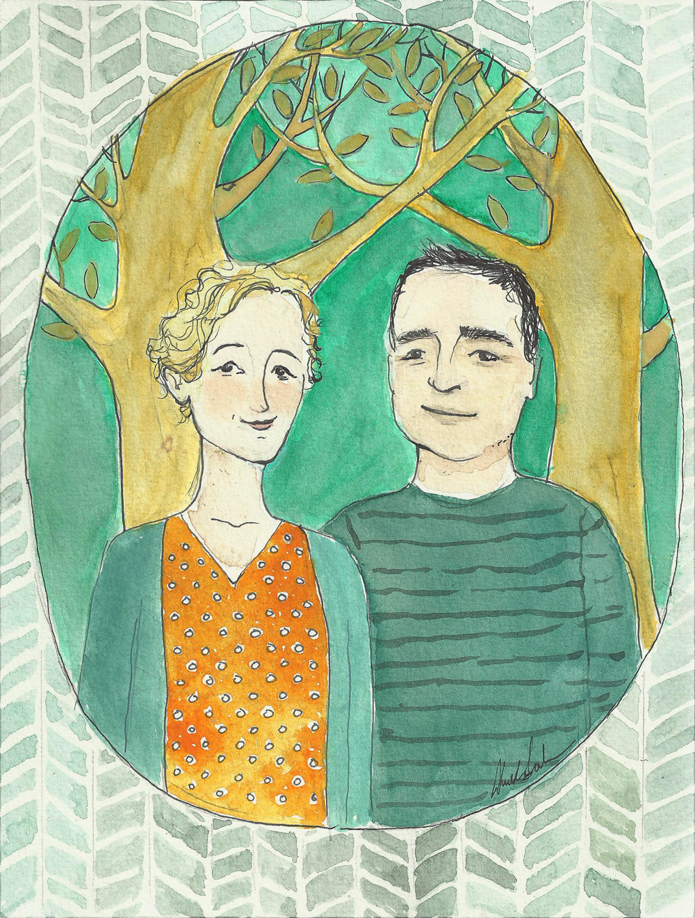 Celia & Matt, 2015