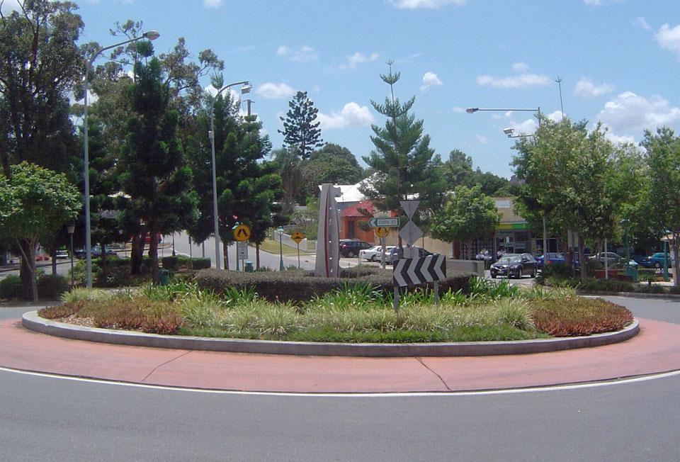 Roundabout - Signage & Destination