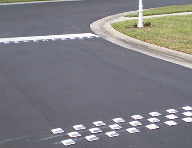 Textured Pavement - Rumble Strips