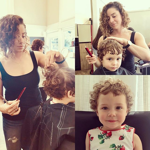 The future is CURL 🌀! Curly Cutter + Curly Client = CURLY GIRLS ❤️❤️ @day_nap @lyonstreetsalon #curlyhairdontcare #lyonstreetsalon #curlygirl #curlygirlsrock #sfhairstylist #sfhairsalon #sfhair