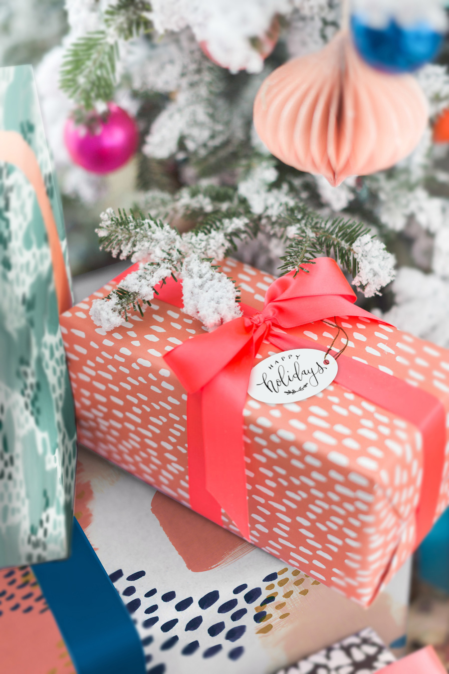 Free Printable // Modern Calligraphy Holiday Gift Tags — Wink Wink ...