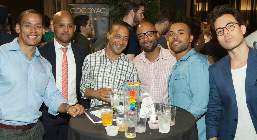 Attendees from the 2015 Macy's Celebrates Pride Party