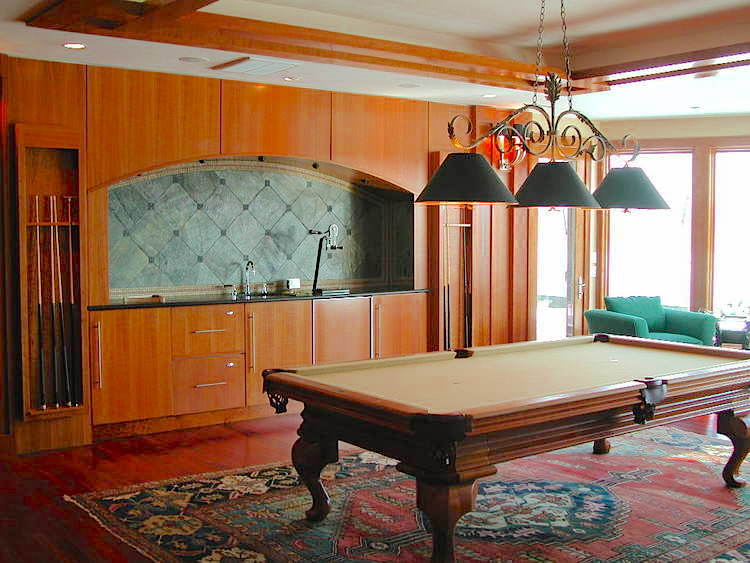 Billiard and Media Room