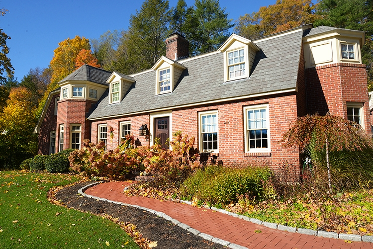 Historic Brick Gambrel