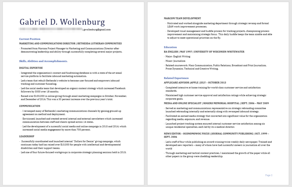 I made this resume for a job wherein I already had an interview scheduled. I knew who I was going to meet. I wanted my resume to help me tailor a conversation about why I was qualified for the position I was chasing. And it worked great; I got the job! But that's because I was working with humans.