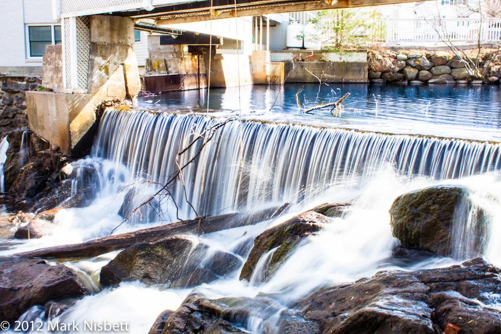 Camden, Maine - inTown Falls