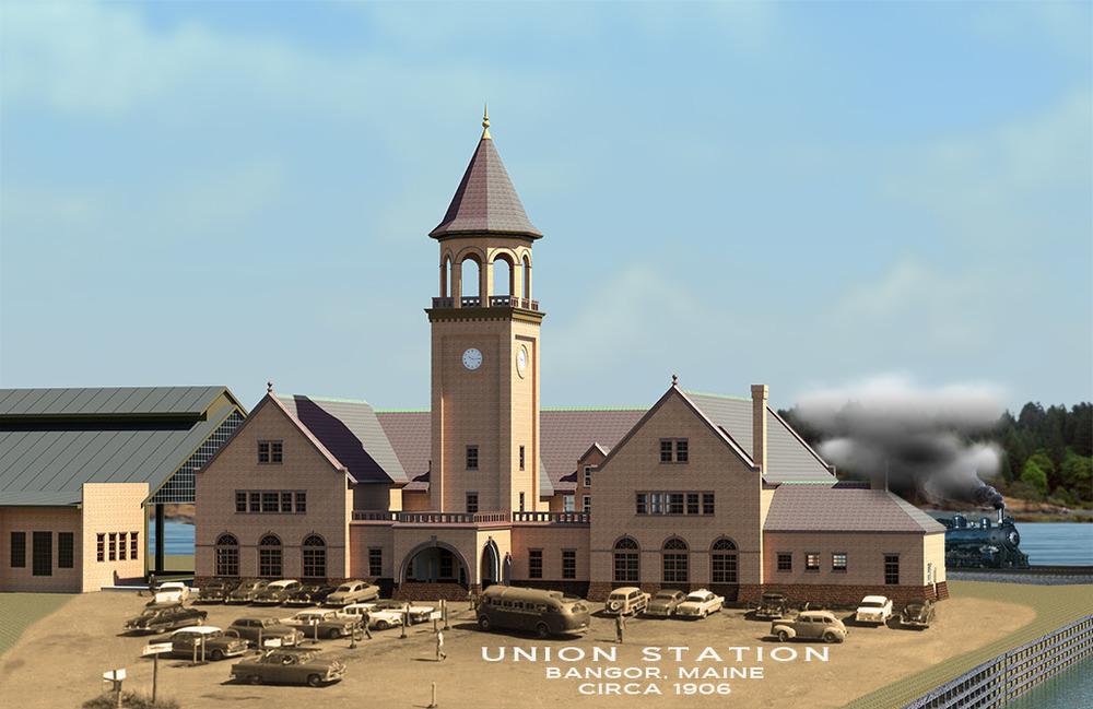 Union Station, Bangor Maine