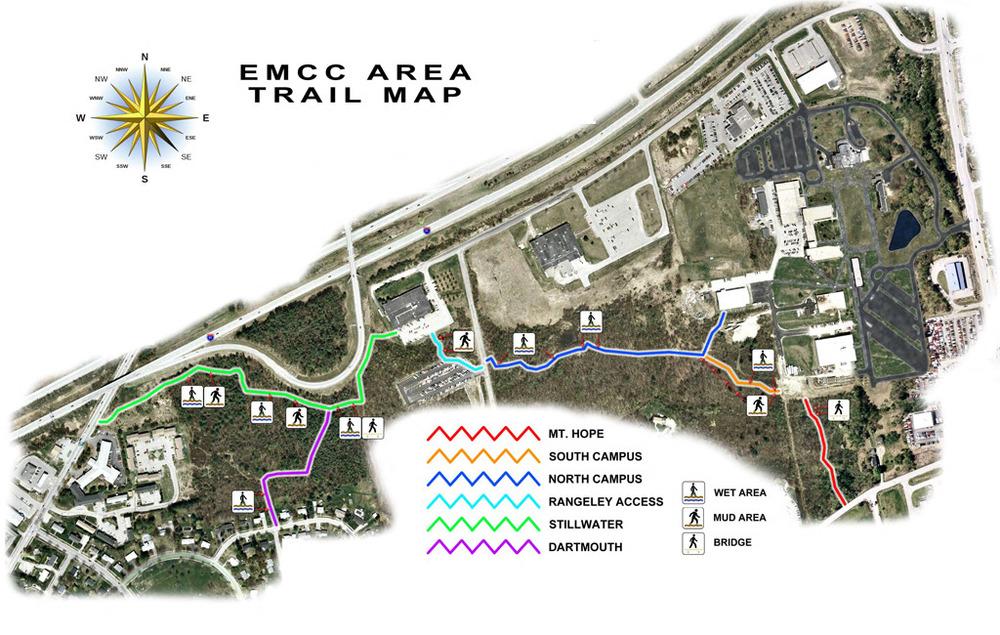 EMCC Trail Map