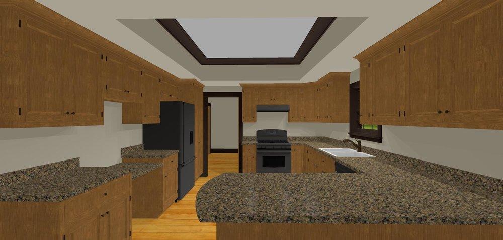 Kitchen Layout View 1